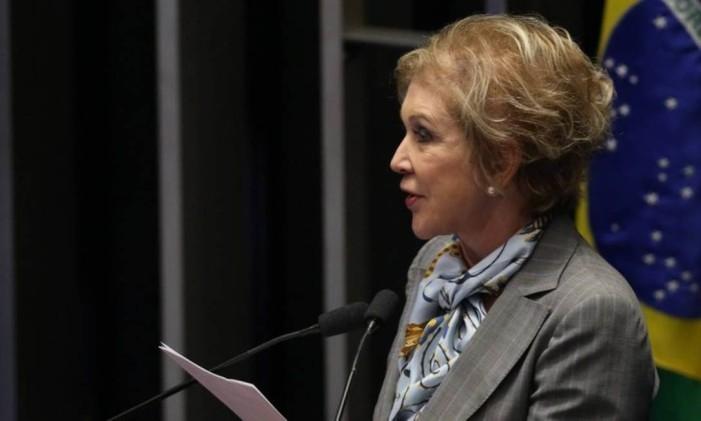 Senadora do PMDB Marta Suplicy Foto: Jorge William / Agência O Globo