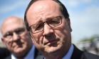 Hollande afirmou que risco de ataques virtuais era esperado Foto: GUILLAUME SOUVANT / AFP