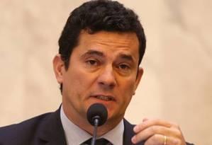 O juiz Sergio Moro Foto: Geraldo Bubniak/Agência O Globo
