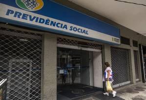 EC Rio de Janeiro, RJ 02/03/2017 INSS - Mudanças no sistema de Previdência Social. Foto Guito Moreto / Agência O Globo Foto: Guito Moreto / Agência O Globo