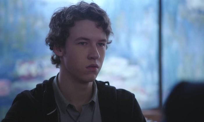 Tyler (Devin Druid) em '13 reasons why' Foto: Divulgação