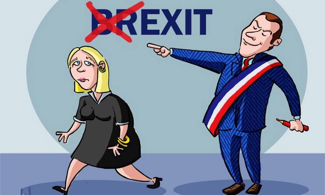 Adeus, Le Pen! de Elihu Duayer ELIHU DUAYER