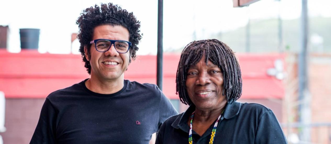 """Hamilton e Milton. Homenageado participa do disco, que tem também """"Travessia"""" na voz da cantora Alcione Foto: Divulgação/ Rafael Silva"""
