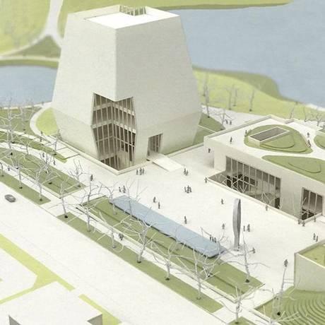 Plano para a biblioteca presidencial de Obama envolve integração total com área pobre de Chicago Foto: Divulgação