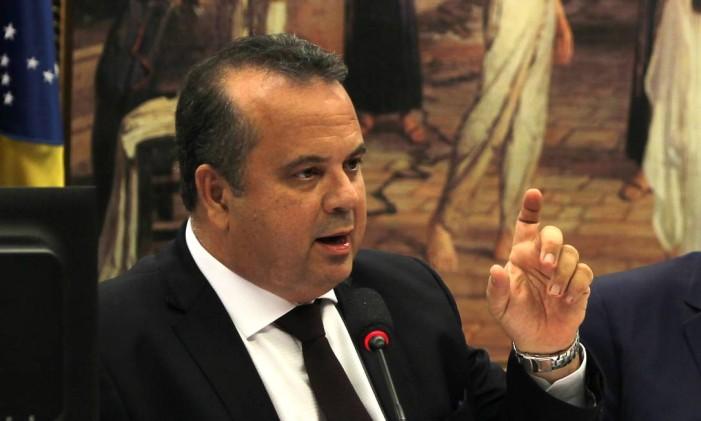 O deputado Rogério Marinho (PSDB/RN), relator da reforma Trabalhista Foto: Givaldo Barbosa / Agência O Globo