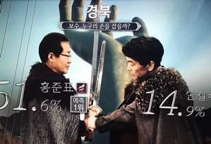 Eleição na Coreia do Sul Foto: Reprodução