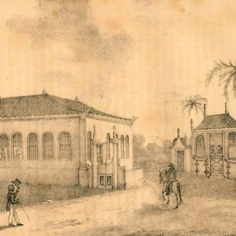 O Poço da Panela, no Recife, onde os revoltosos se reuniam Foto: Divulgação/Biblioteca Nacional