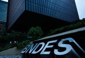 Sede do BNDES Foto: Pedro Teixeira/17-3-2016