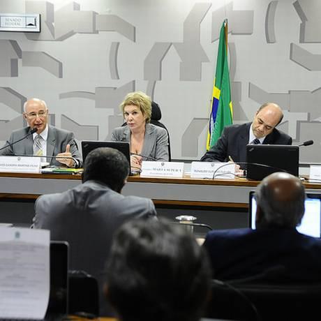 Audiência pública no Senado dá início à tramitação da reforma trabalhista. Foto: Geraldo Magela / Agência Senado