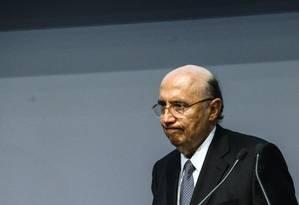 O Ministro da Fazenda, Henrique Meirelles Foto: Agência O Globo