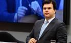 Fernando Bezerra de Sousa Coelho Filho, ministro de Minas e Energia participa de sessão na comissão da Câmara dos Deputados Foto: Jorge William / Agência O Globo