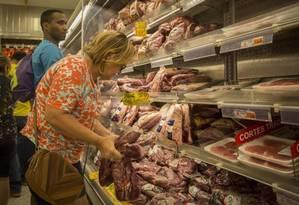 Frigoríficos Souza Ramos, Peccin Agro Industrial e BRF, que estão entre os 21 que foram alvo da Operação Carne Fraca Foto: Analice Paron / Agência O Globo
