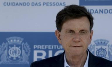 O prefeito do Rio, Marcelo Crivella Foto: Agência O Globo - Gabriel de Paiva