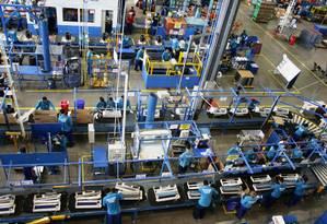 Zona Franca de Manaus: polo industrial Foto: Divulgação