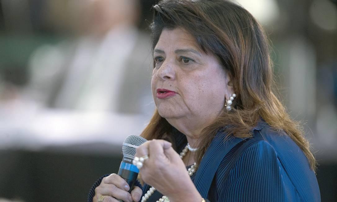 Luiza Helena Trajano, dona do Magazine Luiza Foto: Jorge William / Agência O Globo