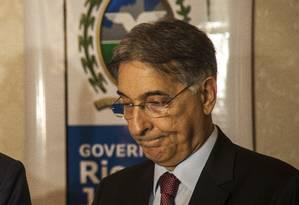 O governador de Minas Gerais, Fernando Pimentel Foto: Hermes de Paula / Agência O Globo 12/12/2016