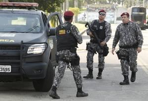 Força Nacional reforçará segurança nas vias de acesso ao Rio Foto: Antônio Scorza / Agência O Globo