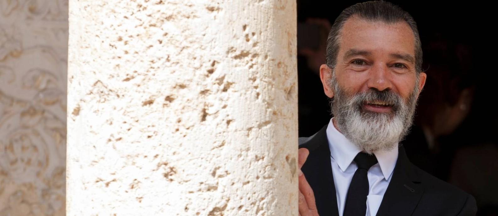 O ator espanhol Antonio Banderas Foto: SERGIO PEREZ / REUTERS