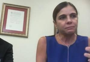 Mônica Moura delata esquema de caixa dois em campanha ao Senado de Delcídio do Amaral Foto: Reprodução
