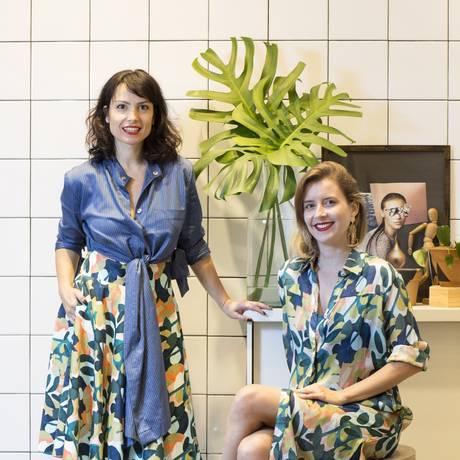 Daniela Sabbag e Ana Wambier na nova loja, no Fashion Mall Foto: Ana Branco/Agência O Globo