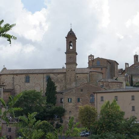 Torres. A medieval Montepulciano, de onde se avistam campos da Toscana Foto: Fotos de Claudia Sarmento