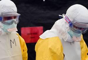 Caso de ebola é confirmado na República Democrática do Congo Foto: Reprodução
