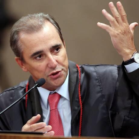 O novo ministro do TSE Admar Gonzaga Foto: Roberto Jayme / Divulgação