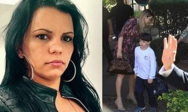 A babá de Michelzinho Foto: Reprodução/ Facebook | Ailton de Freitas/ Agência O Globo