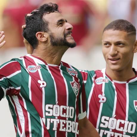 Flumiinense precisa dos gols de Henrique Dourado e Richarlison Foto: Marcelo Theobald