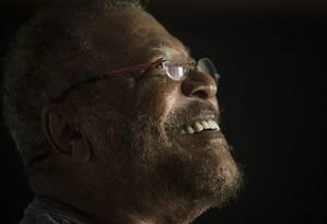 Martinho da Vila: 'Escrever não é um ato prazeroso. O bom é saber que as pessoas me leram' Foto: Guito Moreto/ 14.3.2017 / Agência O Globo