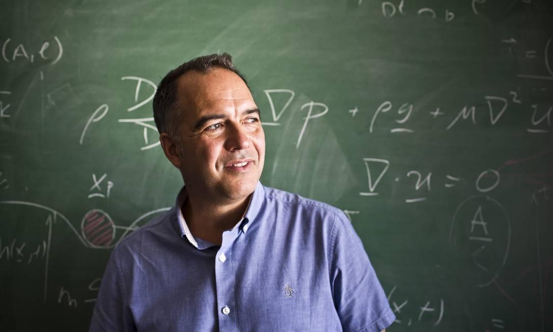 RI Rio de Janeiro (RJ) 04/05/2017 Conte algo que nao sei - O matematico canadense John Bush, em entrevista no IMPA. Foto Monica Imbuzeiro Foto: Agência O Globo