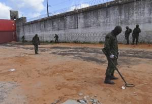 Forças Armadas fazem varredura em 16 presídios em cinco estados Foto: ASCOM/MD