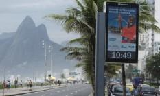 Ipanema, no Rio de Janeiro Foto: Fernando Lemos / Agência O Globo