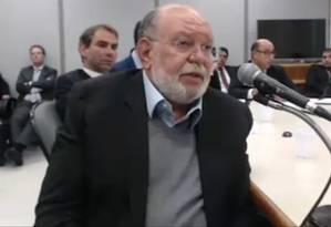 Léo Pinheiro é um dos empresários que tem acordo de delação premiada com a Lava-Jato Foto: reprodução de TV