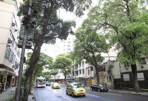 Radar em rua do Rio: prefeituras não poderão mais instalar equipamentos em área de risco no estado Foto: Urbano Erbiste / Agência O Globo