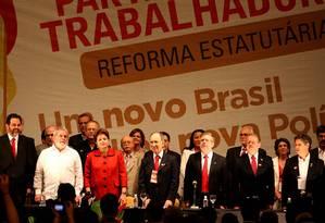 Cúpula do PT quer debater burocratização Foto: Ailton de Freitas / O Globo