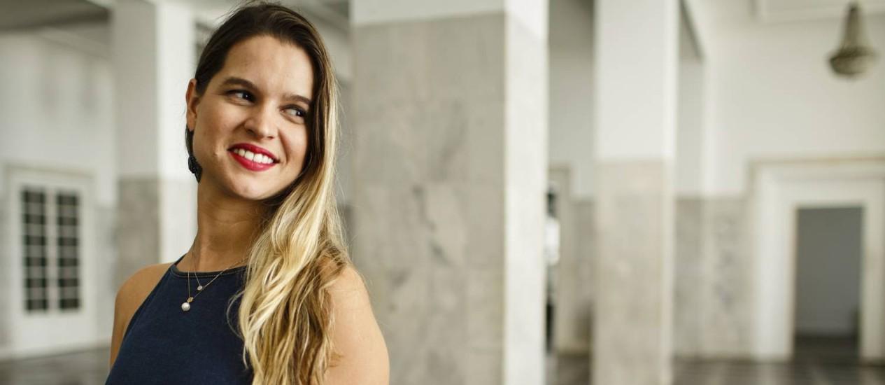 """""""A produção brasileira de vinhos está bem à frente de muitos outros países"""", diz Larissa Fin. Foto: Fernando Lemos / Agência O Globo"""