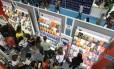 Ano de 2016 não foi tão ruim quanto 2015, mas o mercado editorial brasileiro continuou sem motivos para comemorar Foto: Ana Branco / Agência O GLOBO