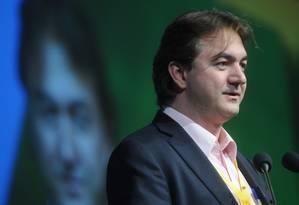Joesley Batista, presidente da JBS, durante evento do agronegócio Foto: Claudio Belli / Agência O Globo
