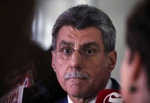 O líder do governo no Senado, Romero Jucá Foto: Jorge William / Agência O Globo