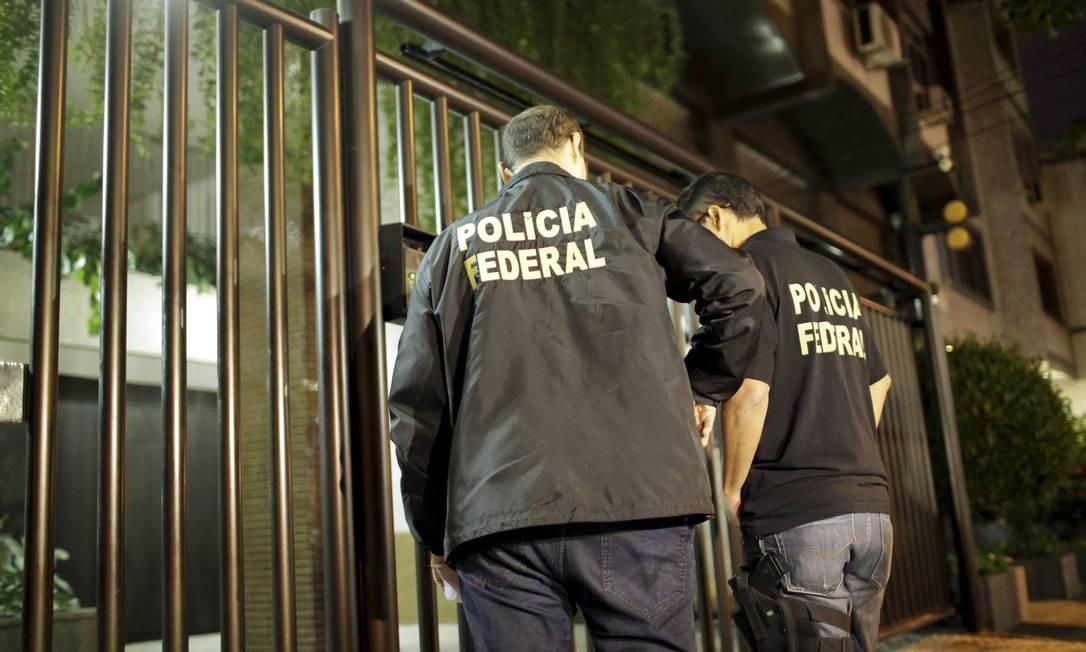 A PF também bateu na porta do braço-direito de Cunha, Altair Alves Pinto Foto: Gabriel de Paiva / O Globo