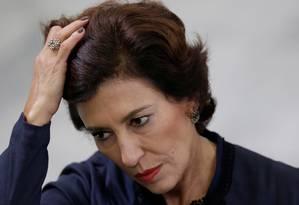 Maria Silvia Bastos Marques, no início do mês em evento em Brasília. Ueslei Marcelino/Reuters