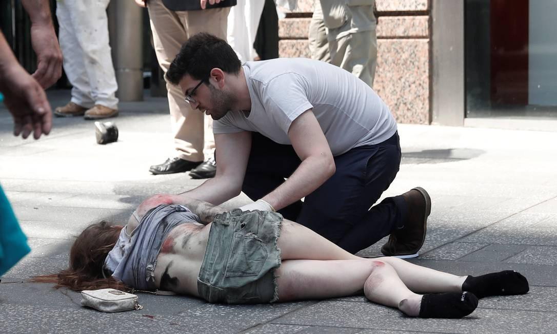 As autoridades não acreditam na hipótese de um ataque terrorista MIKE SEGAR / REUTERS