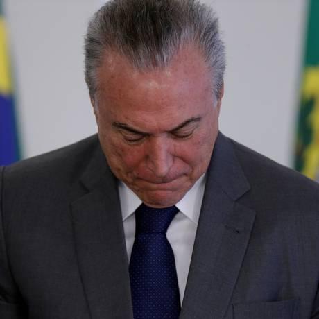 Transparência Internacional lança nota sobre revelações contra Temer Foto: Ueslei Marcelino / REUTERS