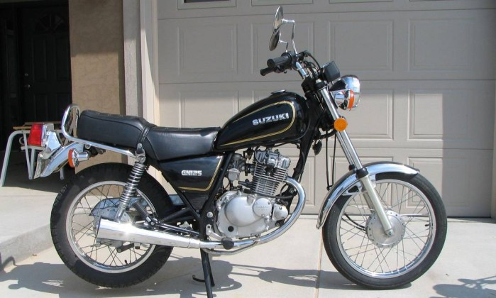 Intruder Suzuki 125