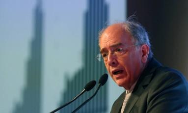 O presidente da Petrobras, Pedro Parente Foto: Paulo Whitaker / Reuters