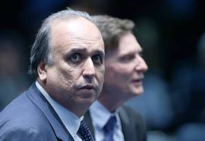 O Governador do Rio, Luiz Fernando Pezão Foto: Jorge William / Agência O Globo