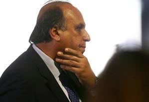 """Expectativa. Pezão fala sobre pacote que será enviado à Alerj: """"Sei que são medidas duras, mas temos que fazer"""
