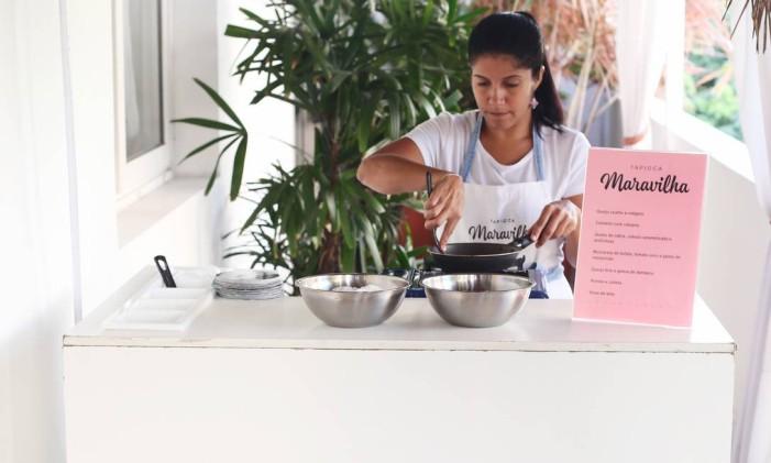 Tapioca: estyação fixa ou food bike é opção para o lanche da madrugada Foto: Divulgação