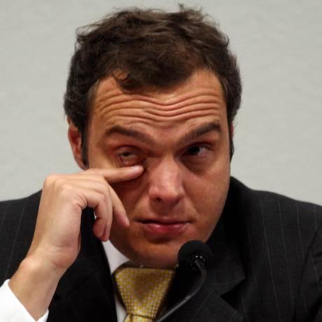 CPI da ONGs ouve o Doleiro Lúcio Funaro que acusou o ex-diretor da Bancoop José Vaccari Neto de desvios de recursos Foto: Gustavo Miranda / O Globo